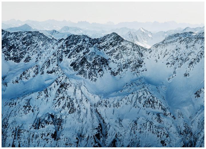 Альпы на высоте 3,5 тыс метров