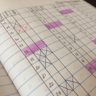 Finding time for Mother Culture by using a bullet journal to record and track my goals for the New Year.