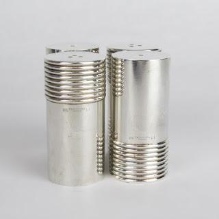 Christofle Salt & Pepper Shaker Set of Four