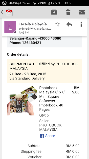 Photobook Murah RM1 di Lazada - Azlinda Alin Malaysian