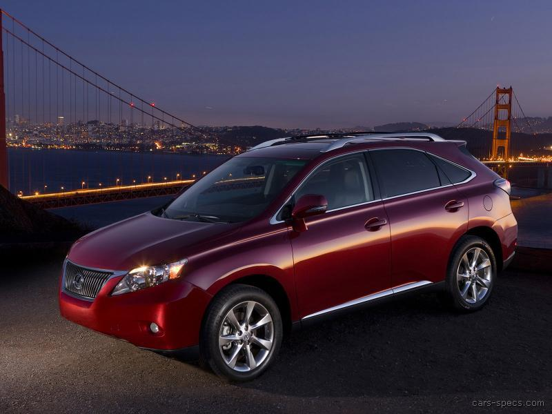 2010 lexus rx 350 suv specifications pictures prices. Black Bedroom Furniture Sets. Home Design Ideas