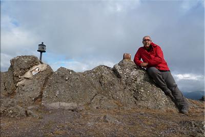 Albiturri mendiaren gailurra 943 m. -  2012ko uztailaren 15ean