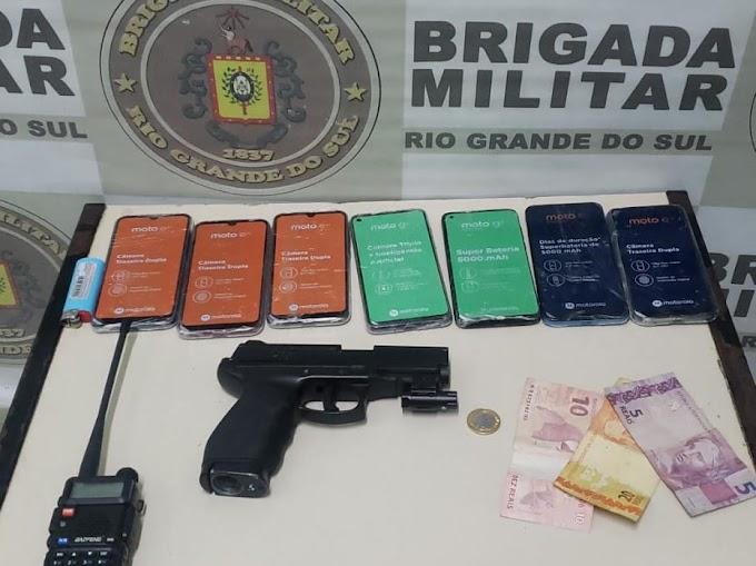 Roubou uma loja e foi preso pela Brigada Militar em Cachoeirinha