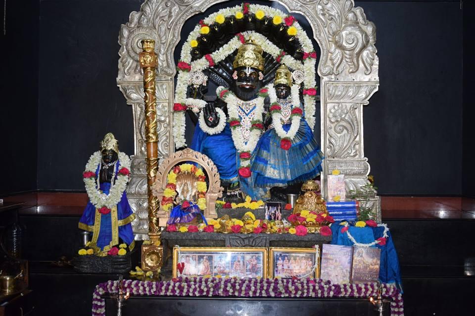 ISKCON Bangalore Deity Darshan 06 Jan 2017 (2)