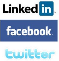 Connecting Twitter with Facebook and LinkedIn , Twitter, facebook and LinkedIn Contact management Tools