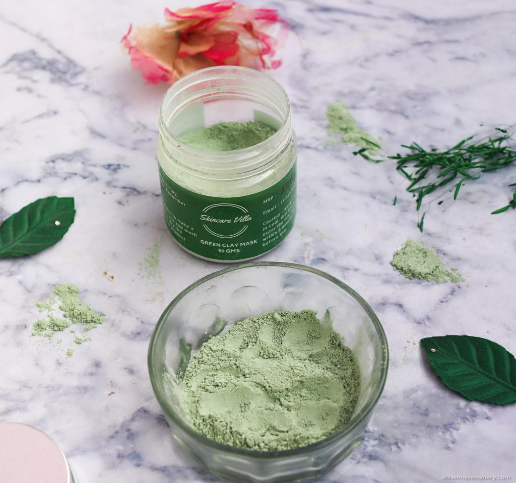 Green clay, face mask, healthy, affordable