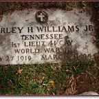 Burley H. Williams, Jr. Son of Burley H. Williams, Sr. Grandson of Cordelia Elizabeth Gleaves Spring Hill Cemetery Nashville, Tennessee