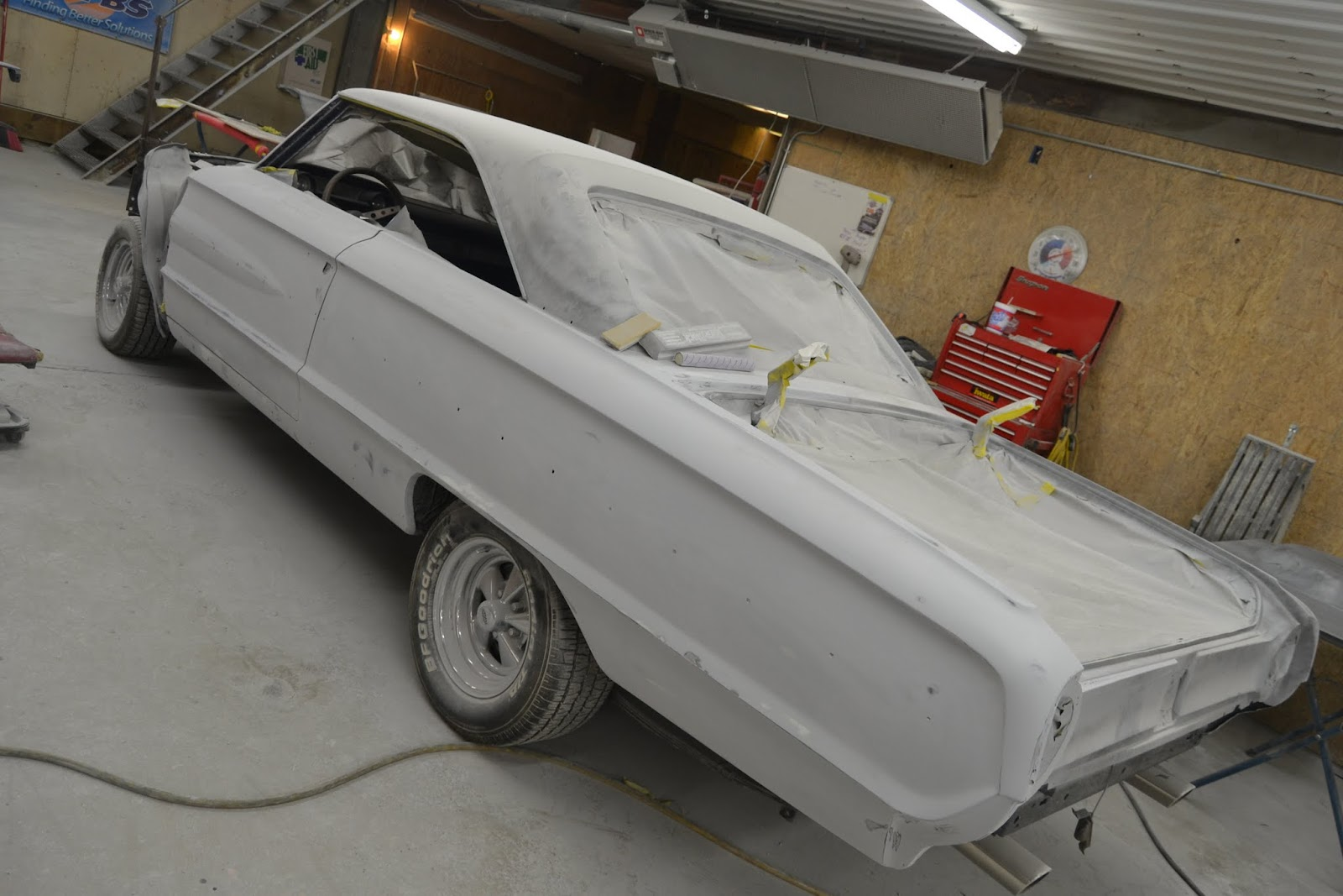 1964 Ford Galaxie 500 XL Upgrades & Repaint - Page 3 - V8 Forum - V8TV