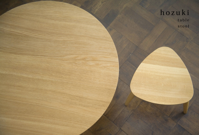 ほおずきテーブルとほおずきチェア