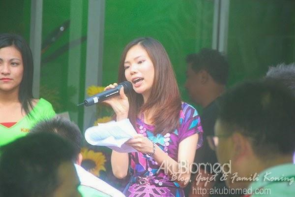 Pengacara majlis Mei Sze Choo