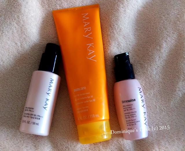 Mary Kay Sunscreens