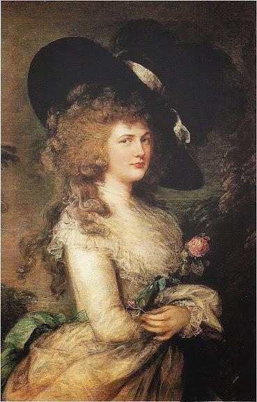Thomas Gainsborough - Her Grace Georgiana Cavendish, Duchess of Devonshire, (1787)