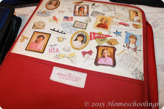 American Girls Collection Binder