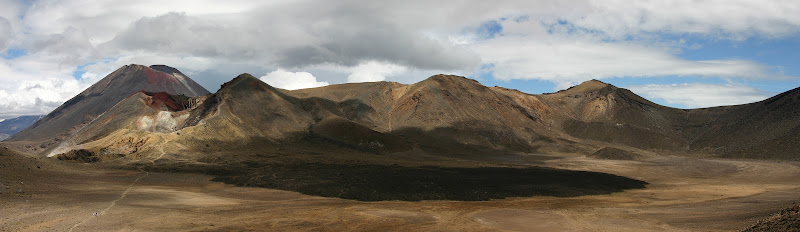 Central Crater panorama