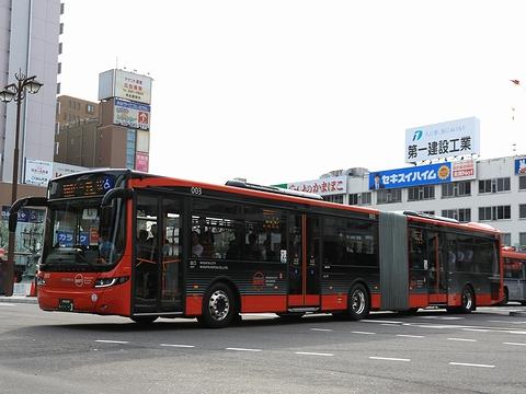 新潟交通 萬代橋線BRT 連接バス ・・・3