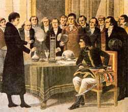 volta y napoleón
