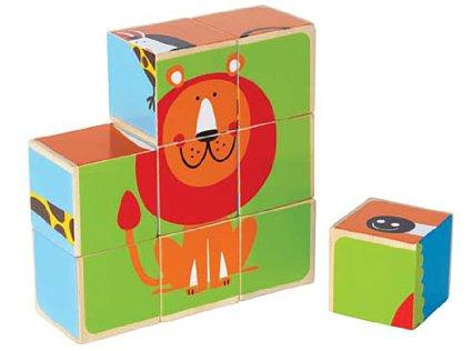 Ghép hình con vật bằng gỗ Hape E0421A