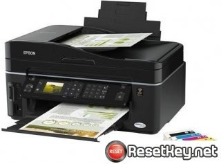 Epson TX610FW Waste Ink Counter Reset Key