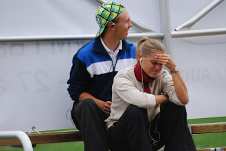 Photo: Aki Sillman, Finland, and Madara Kirsa, Latvia. Photo: Patric Fransson
