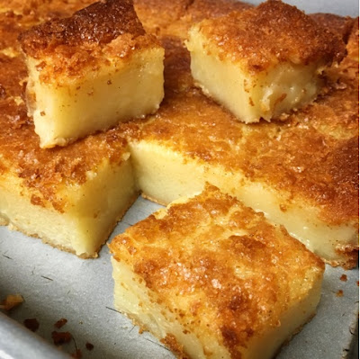Hawaiian Mochi Cake Recipe