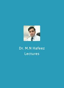 Dr. M.N Hafeez - náhled