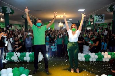 Anna Lorena e Celecileno registram candidaturas na Justiça Eleitoral