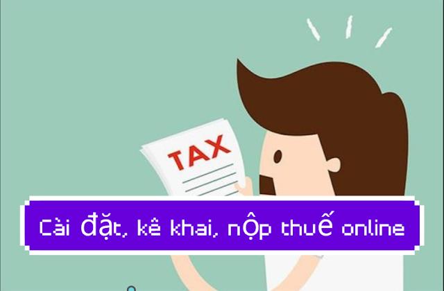 Hướng dẫn cài đặt và kê khai nộp phí lệ phí thuedientu.gdt.gov.vn trong 5 phút