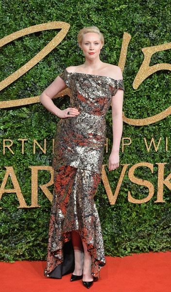 Gwendoline Christie attends the British Fashion Awards 2015