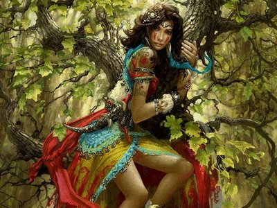 Druid Beauty, Celtic And Druids