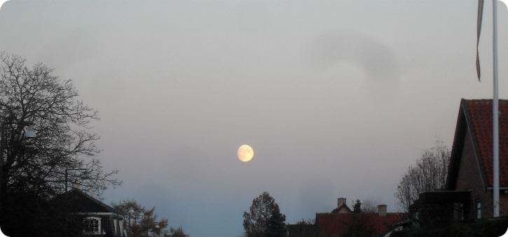 Månen til aften