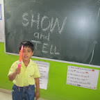 Show and Tell Activity (Sr. KG, R.C. Vyas) 25.04.2017