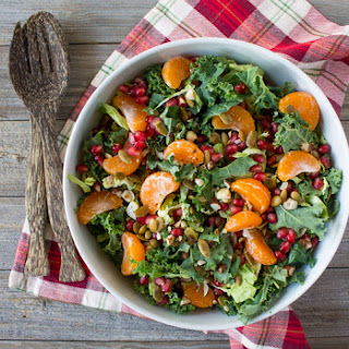 Holiday Salad with Satsuma and Pomegranate