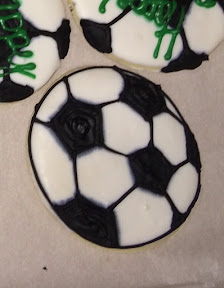 soccer sugar cookie bakery