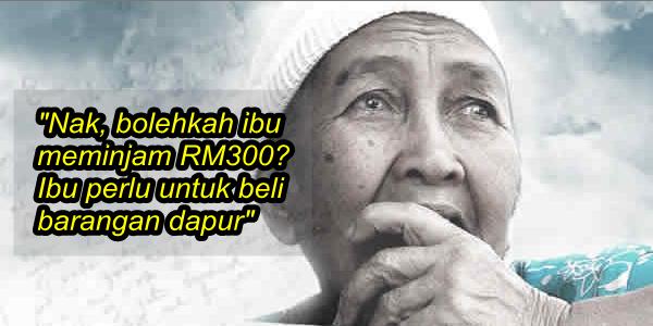Ibu Nak Pinjam RM300 Daripada Anak... Ini Jawapan Anak Yang Buatkan Anda Sedih.png