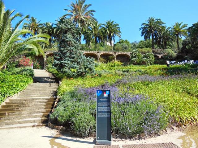 Jardines de Austria del Parque Güell