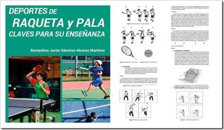 """Libro """"Deportes de Raqueta y Pala: claves para su enseñanza"""". Fórmate en más de 10 modalidades con estos implementos."""