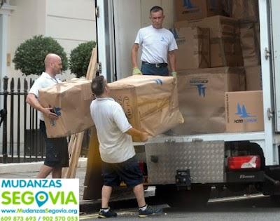 Transportes Marazoleja Segovia