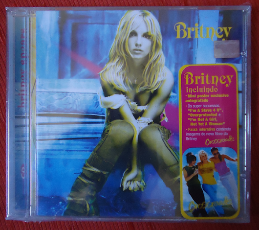 It's Collector | O lugar do colecionador!: CD ENCHANCED: Britney (2001 - Brasil)