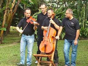 MozART group at the morning TV Show / San Jose - Costa Rica