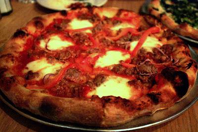 Pizza at Pizzeria Delfina in San Francisco