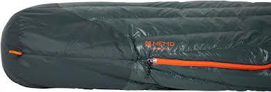NEMO Riff 15 Men's Sleeping Bag - 800 Fill, Long, Ember Red/Deep Water alternate image 1