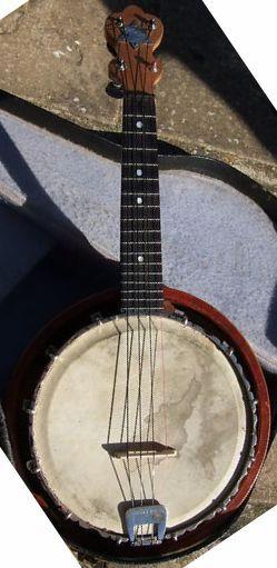 W.G. Coker Banjolele Banjo Ukulele