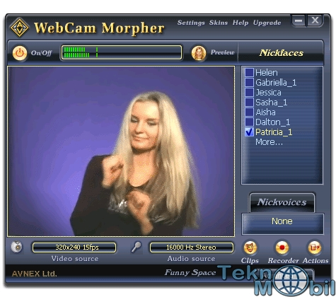 AV WebCam Morpher v2.0.44 Full