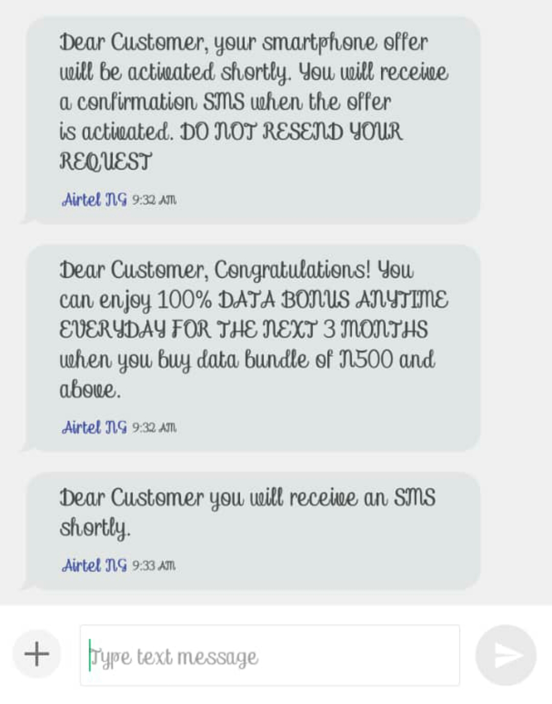 Airtel unlimited data plan for 100 naira 2018