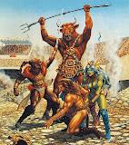 Gladiators In Fight