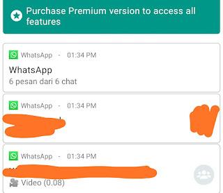 cara melihat pesan yang di tarik di whatsapp