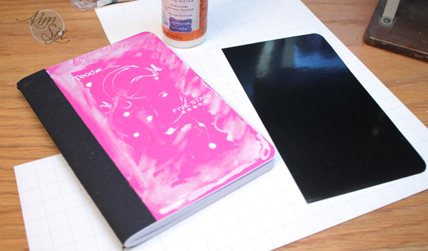 How to make custom covers for notebooks