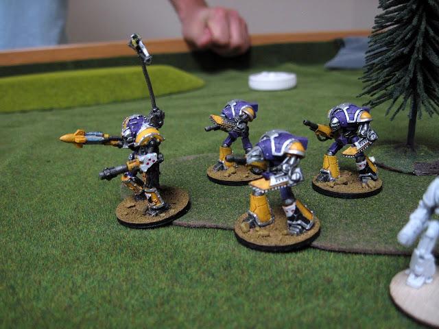Brad's Knights taking full advantage of walker.