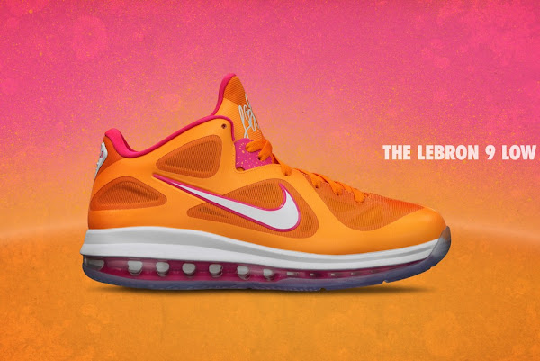 Additional Look at Nike LeBron 9 Low 8220Floridians8221 Exclusive