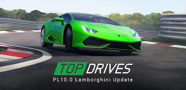 تحميل لعبة السباق top drives مهكرة مجانا للاندرويد [apk+obb]